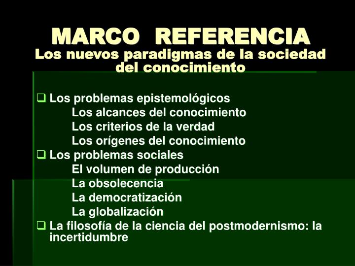 MARCO  REFERENCIA