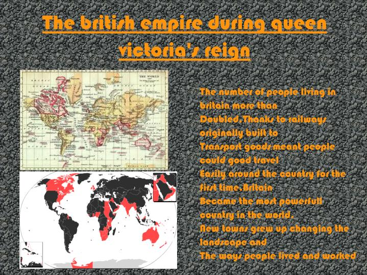 The british empire during queen victoria's reign