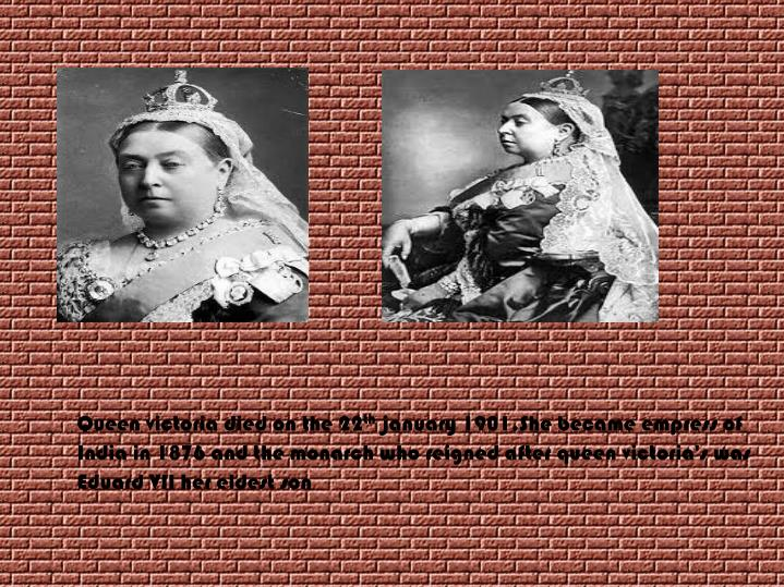Queen victoria died on the 22