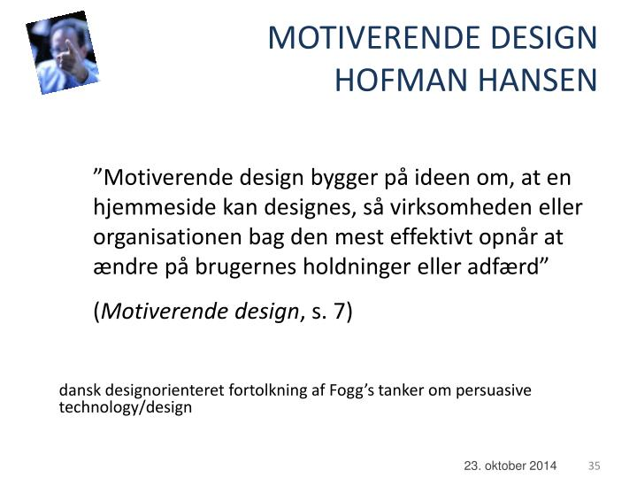 MOTIVERENDE DESIGN