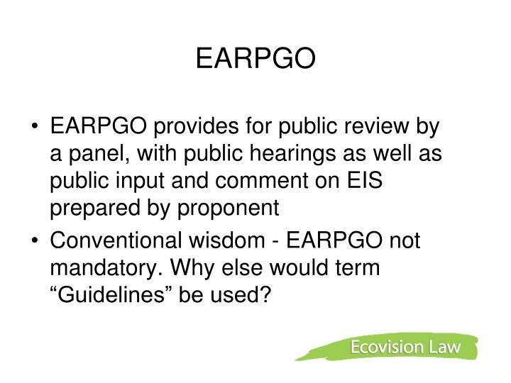 EARPGO