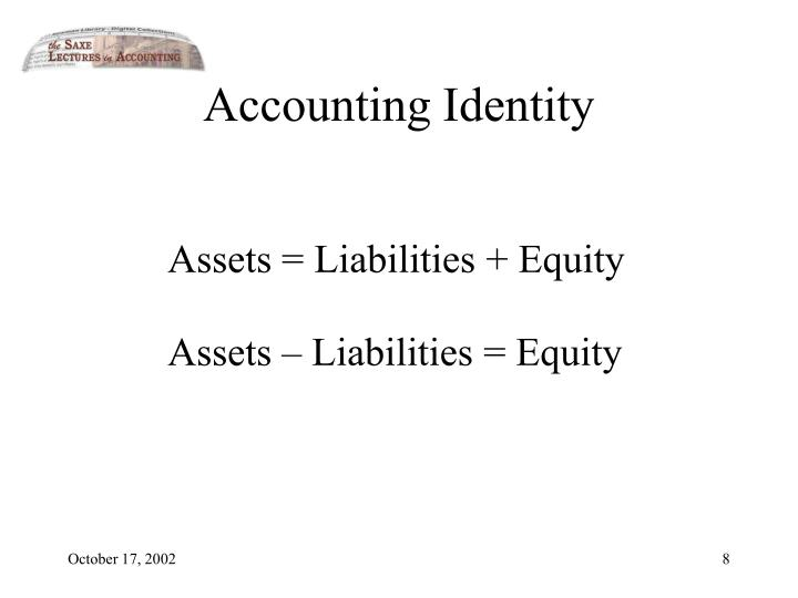 Accounting Identity
