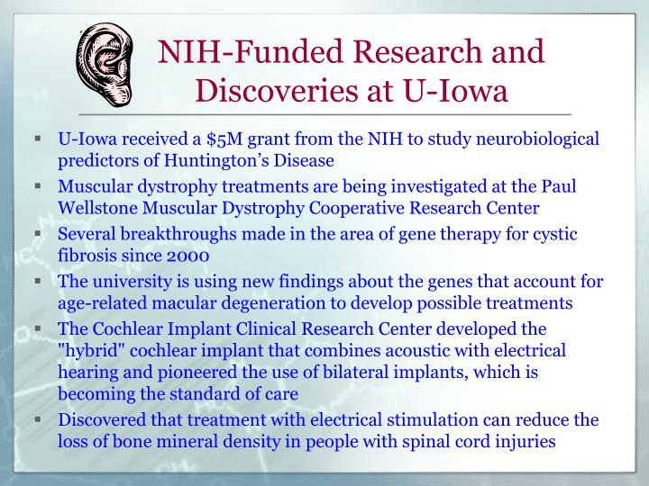 NIH-Funded Research and