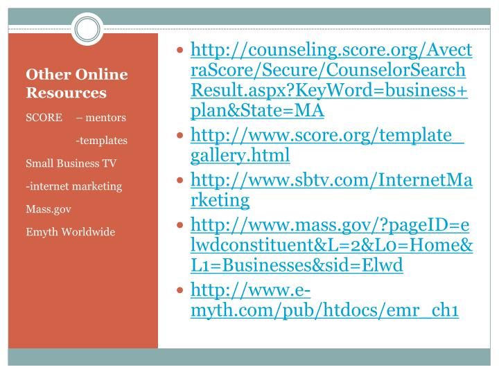 http://counseling.score.org/AvectraScore/Secure/CounselorSearchResult.aspx?KeyWord=business+plan&State=MA