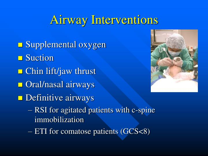 Airway Interventions