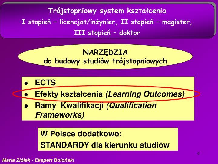Trójstopniowy system kształcenia