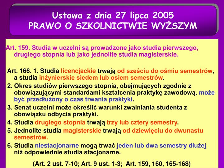 Ustawa z dnia 27 lipca 2005