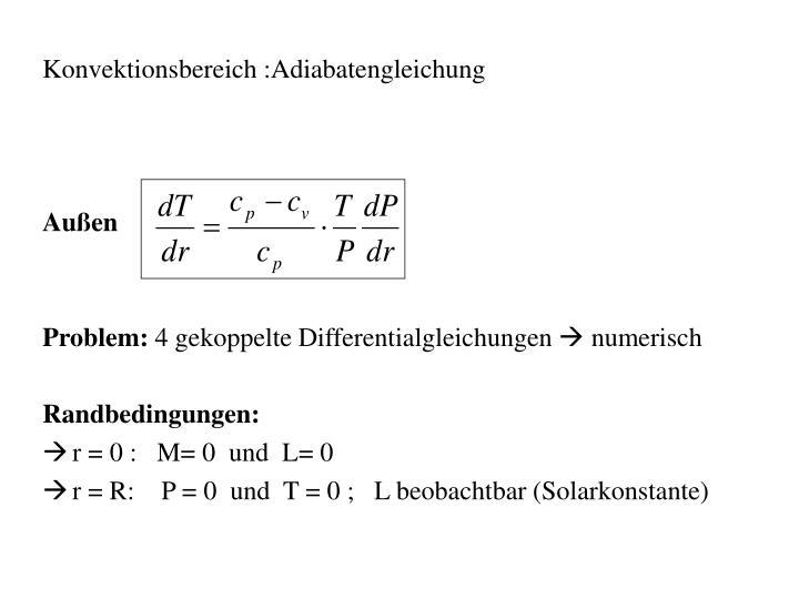 Konvektionsbereich