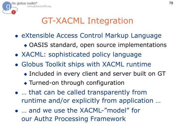 GT-XACML Integration
