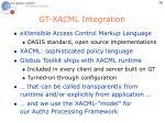 gt xacml integration