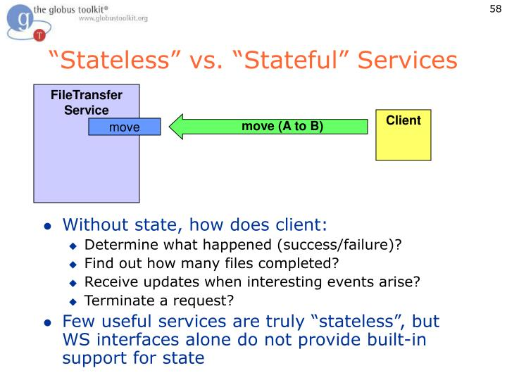 """Stateless"" vs. ""Stateful"" Services"