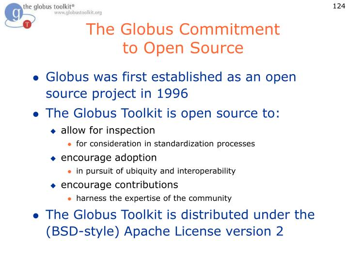 The Globus Commitment