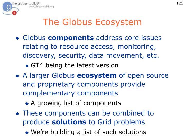 The Globus Ecosystem