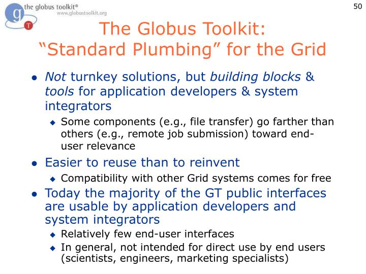 The Globus Toolkit: