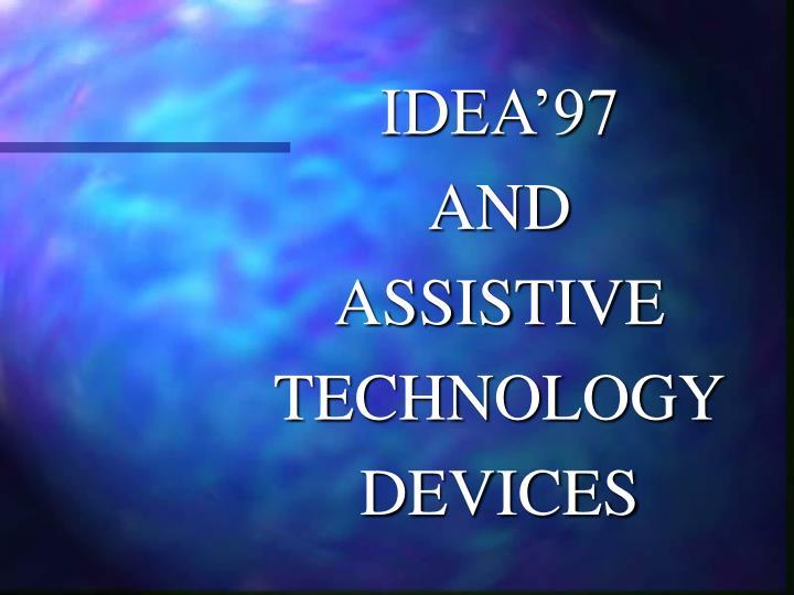 IDEA'97