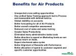 benefits for air products