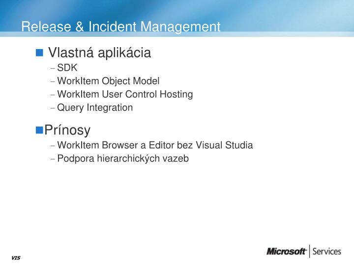 Release & Incident Management