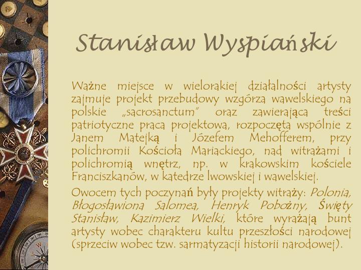 Stanisław Wyspiański