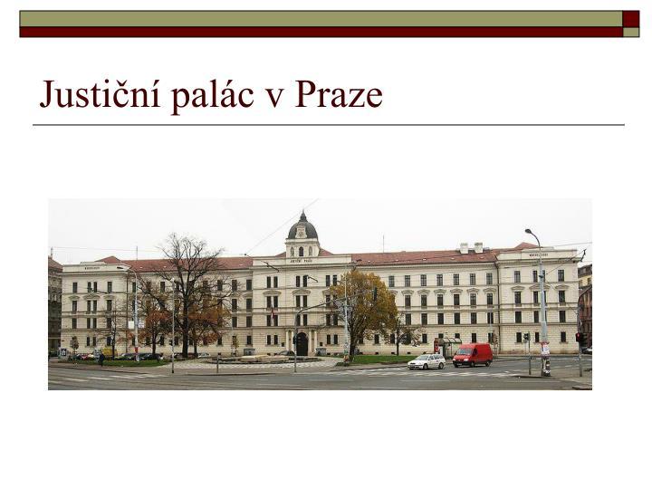 Justiční palác v Praze