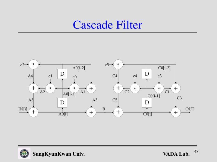 Cascade Filter