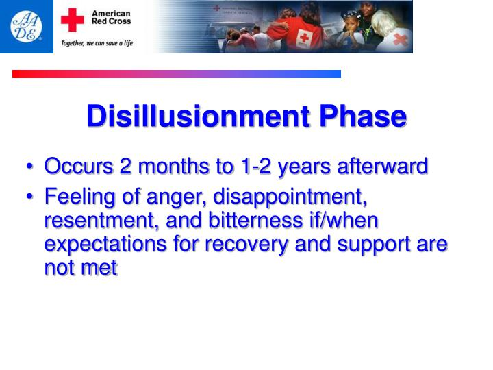 Disillusionment Phase