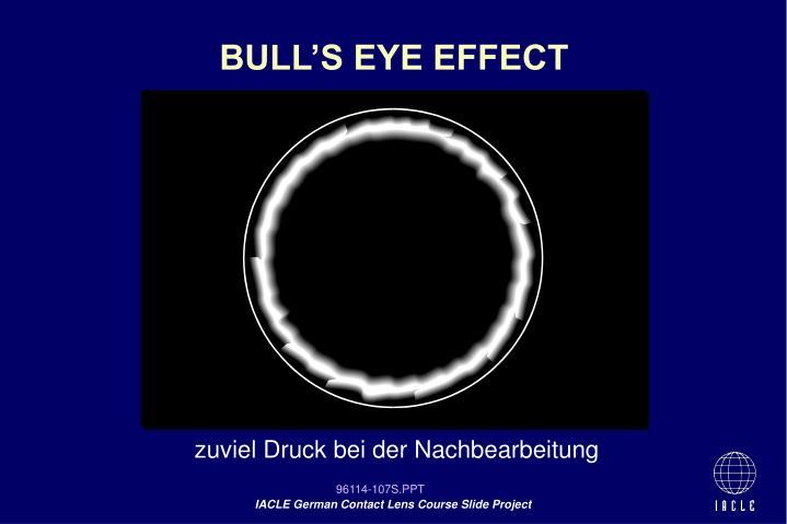 BULL'S EYE EFFECT