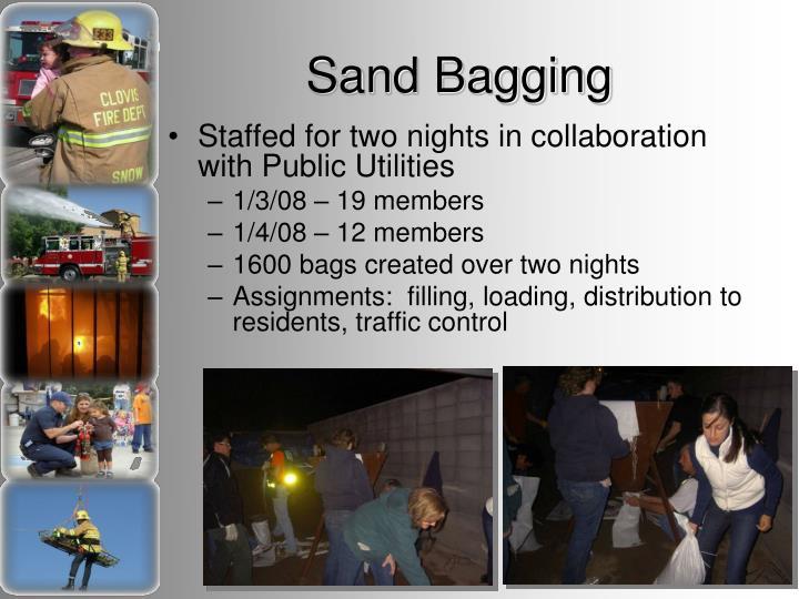 Sand Bagging