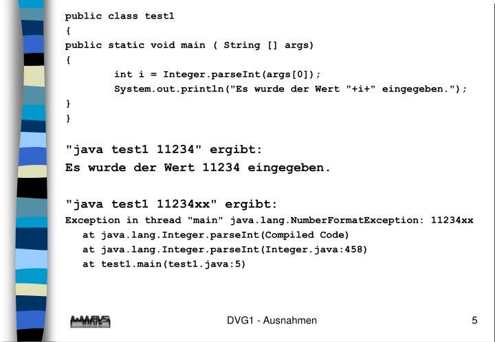 public class test1