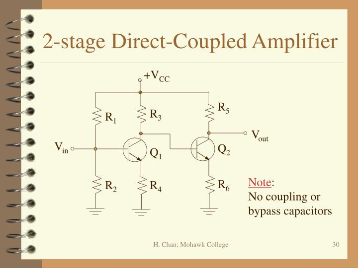 2-stage Direct-Coupled Amplifier