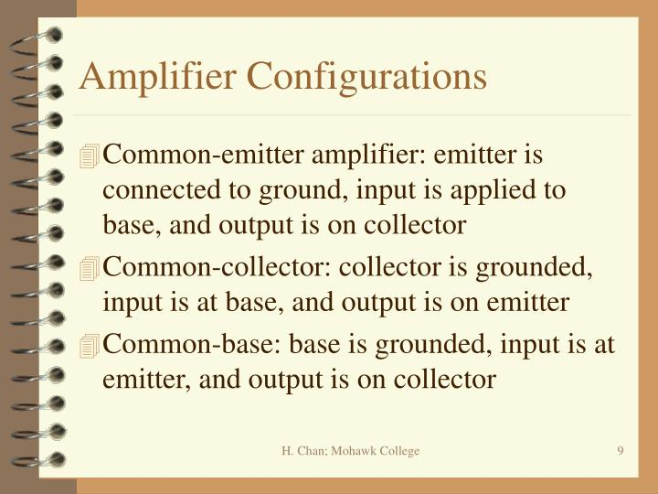 Amplifier Configurations