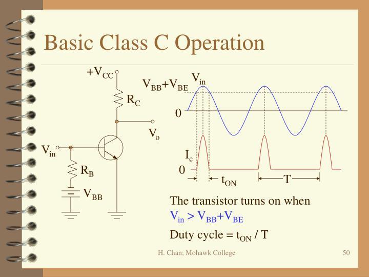 Basic Class C Operation