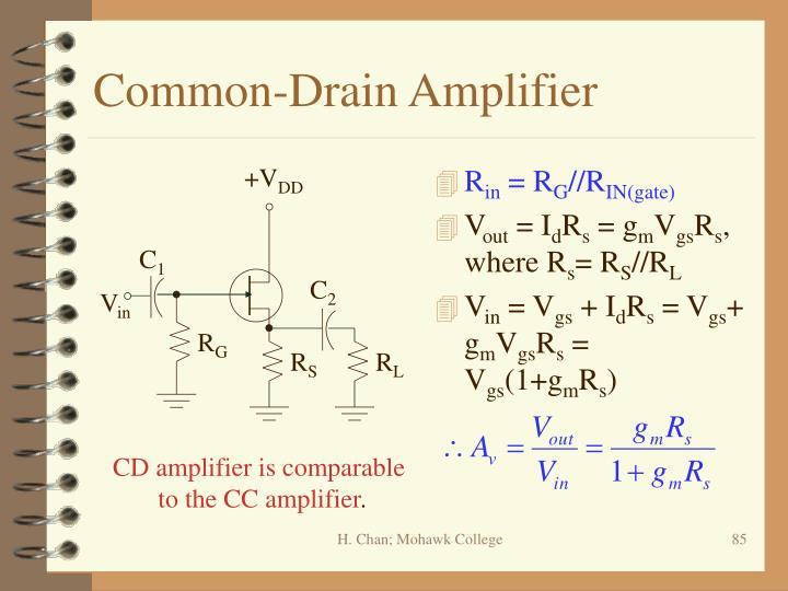 Common-Drain Amplifier