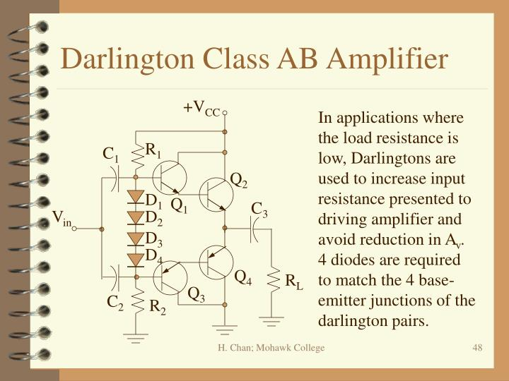 Darlington Class AB Amplifier