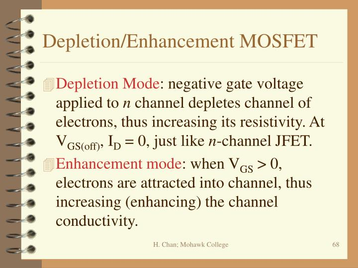 Depletion/Enhancement MOSFET