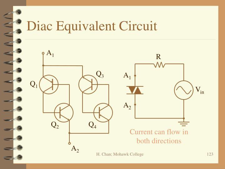 Diac Equivalent Circuit