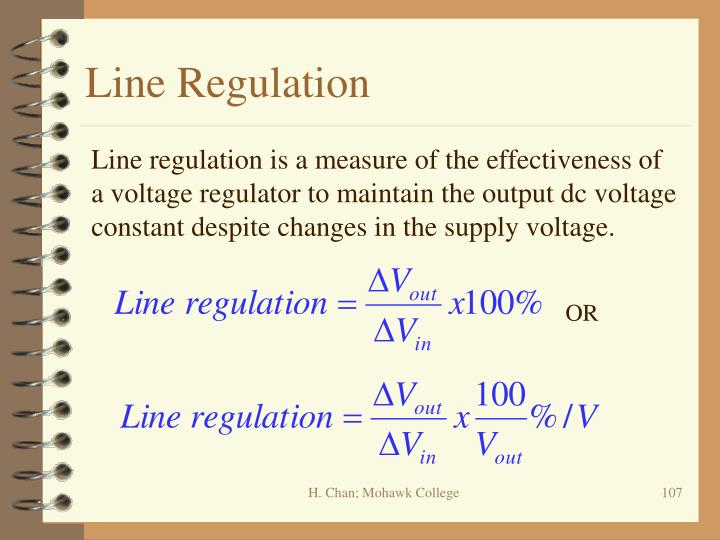 Line Regulation