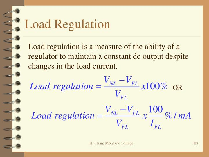 Load Regulation
