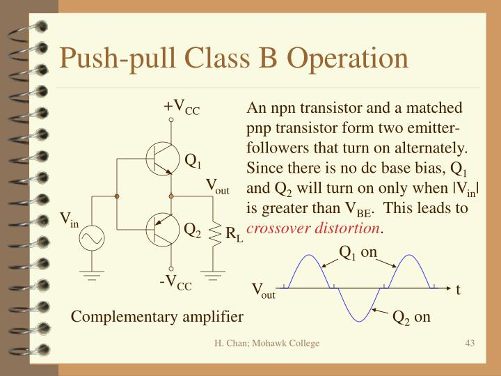 Push-pull Class B Operation