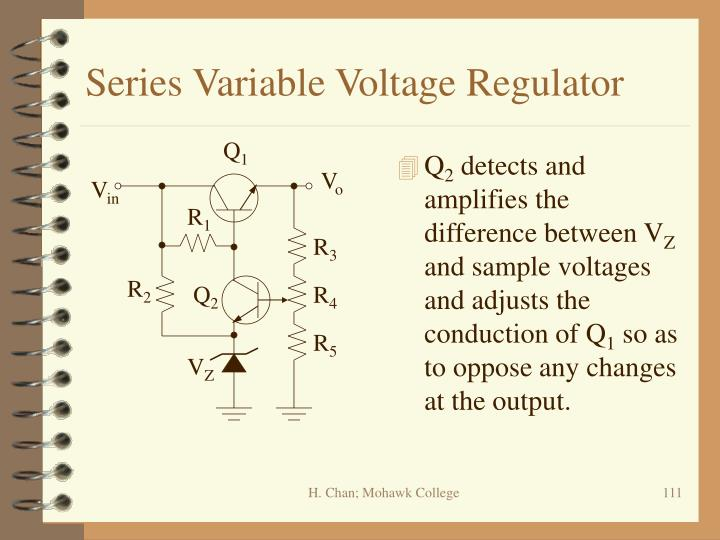 Series Variable Voltage Regulator