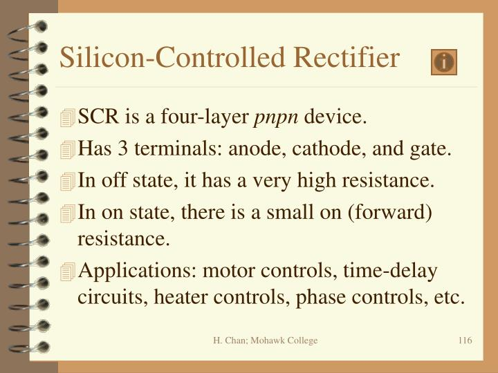 Silicon-Controlled Rectifier