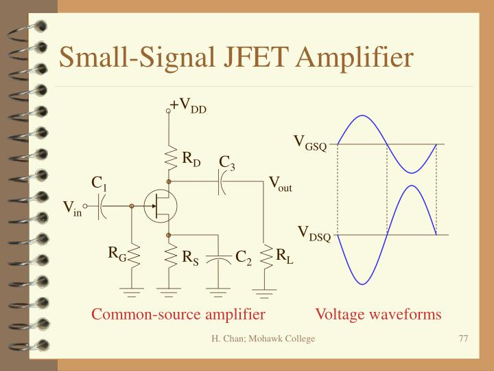 Small-Signal JFET Amplifier