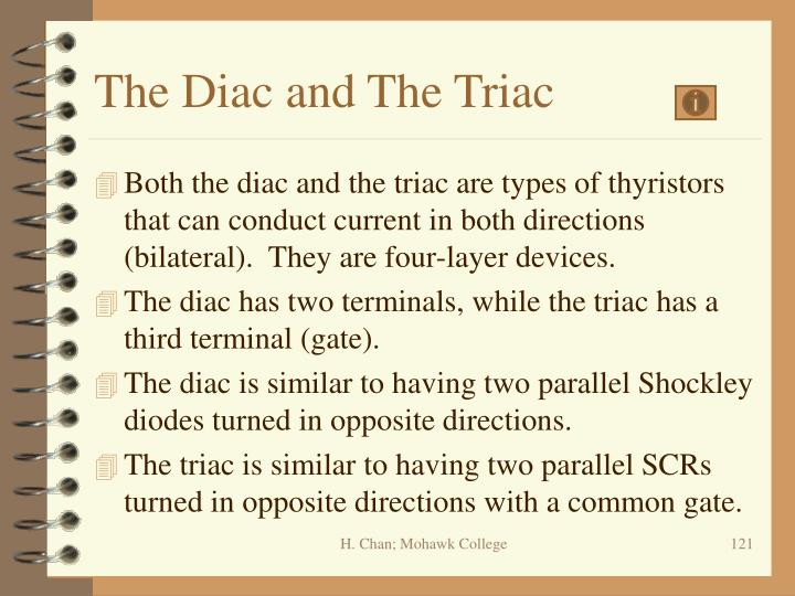 The Diac and The Triac