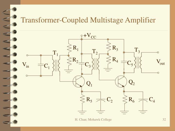 Transformer-Coupled Multistage Amplifier