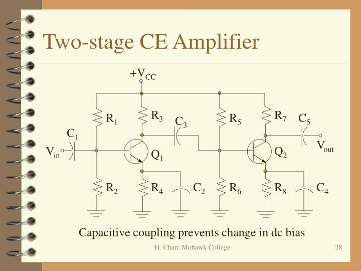 Two-stage CE Amplifier