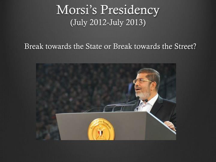 Morsi's