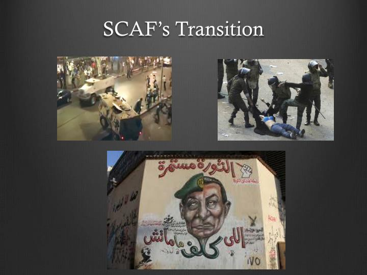 Scaf s transition