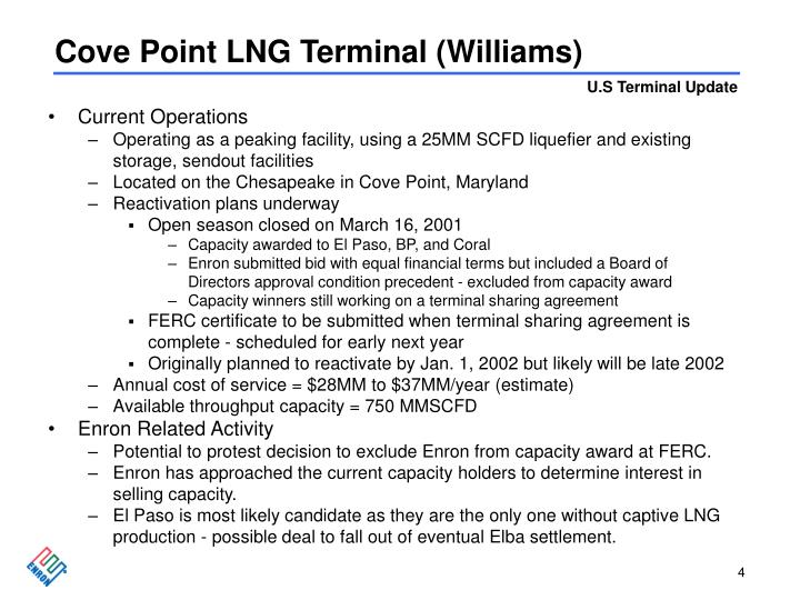 Cove Point LNG Terminal (Williams)