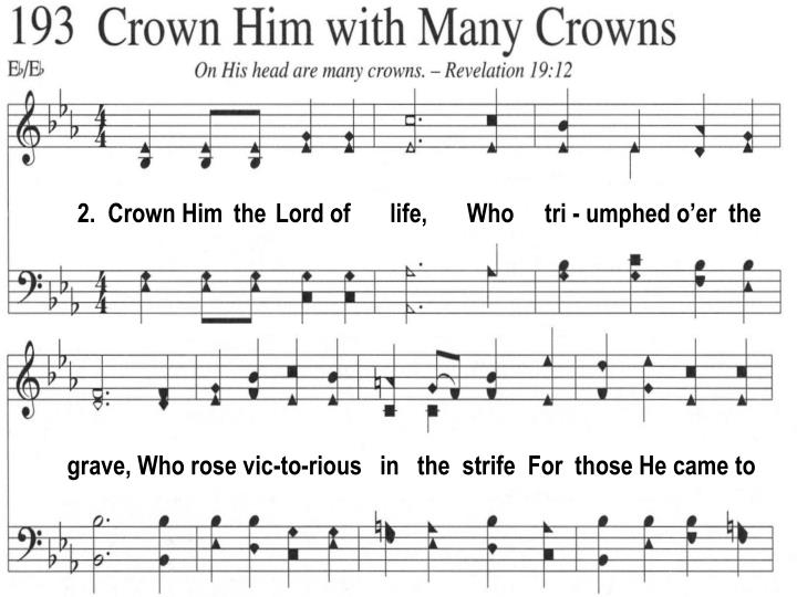 2.  Crown Him