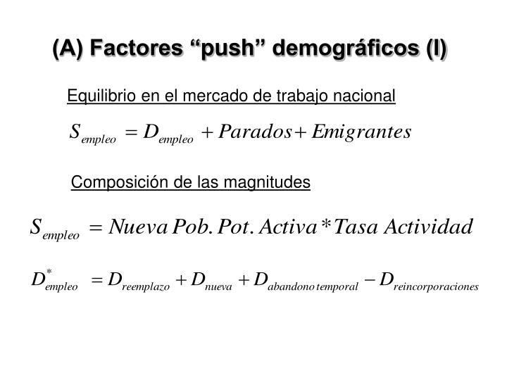"""(A) Factores """""""