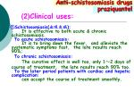 2 clinical uses